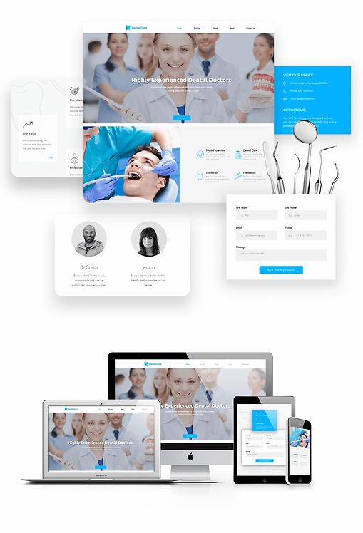 Health/Wellness | Dentist Template