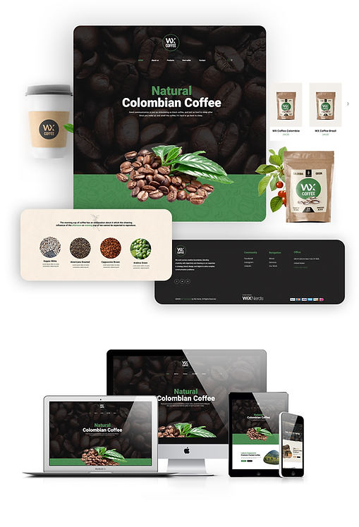 Restaurant & Cafe  | WX Coffee Template