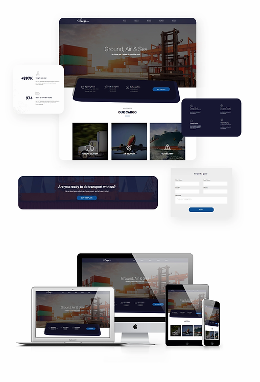 Business | Cargo Template