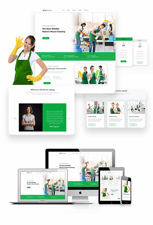 Services | Cleaning Template