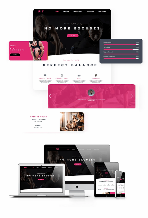 Health & Wellness | WX Fit Template