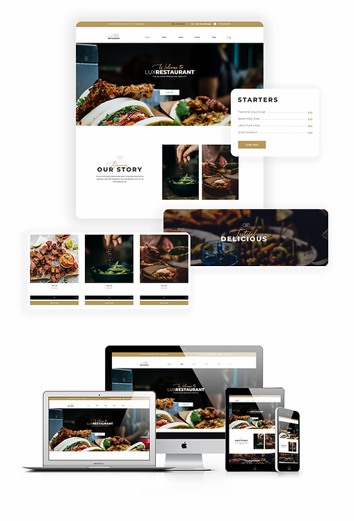 Restaurant | Lux Restaurant Template