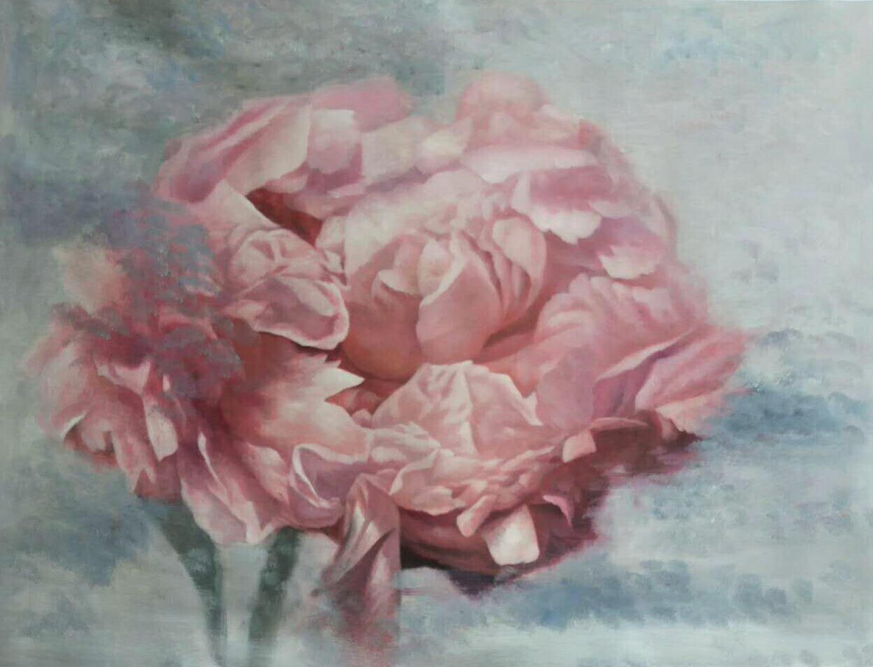 Shabby Pink Floral