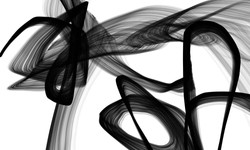 Abstract Poetry in Black and White 110