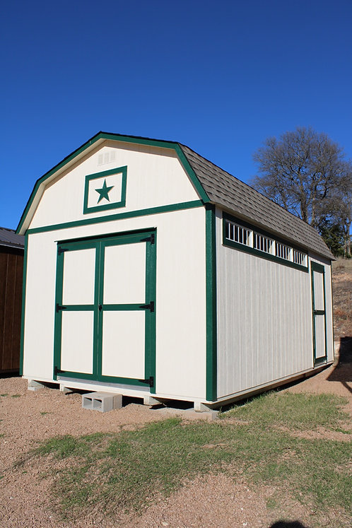 12x20 Lofted Barn Workshop