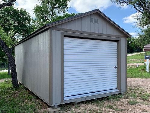 12x24 Wood Garage