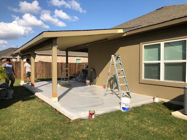 Custom Porch on House