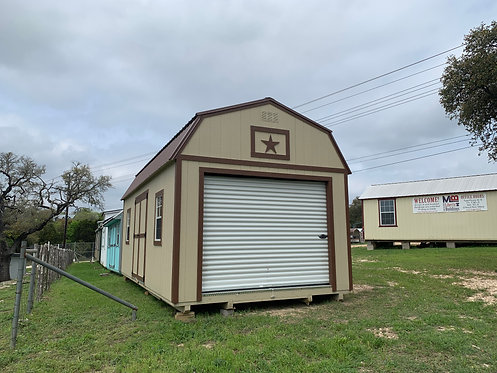 12x24 Handy Man Series Lofted Barn with Electrical Package