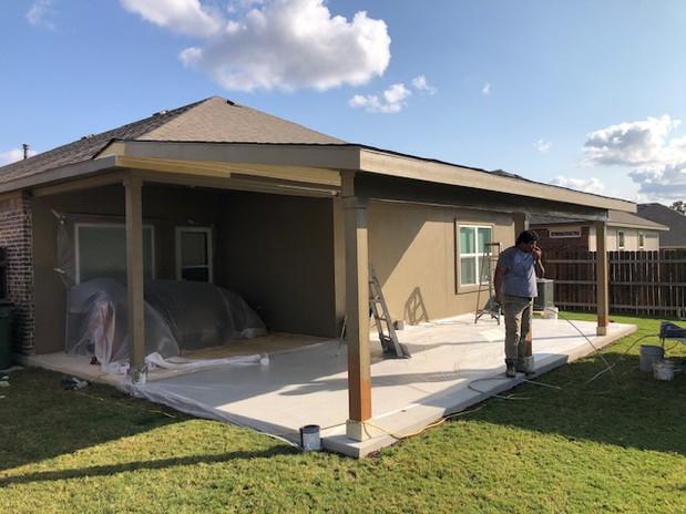 Custom Porch on House 3