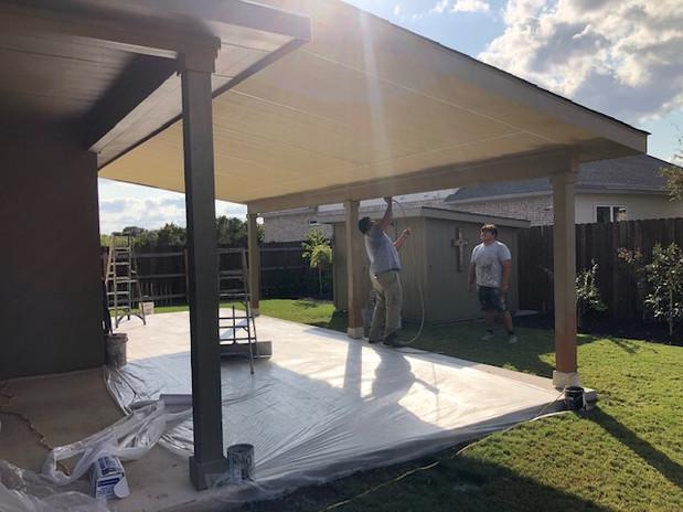 Custom Porch on House 2