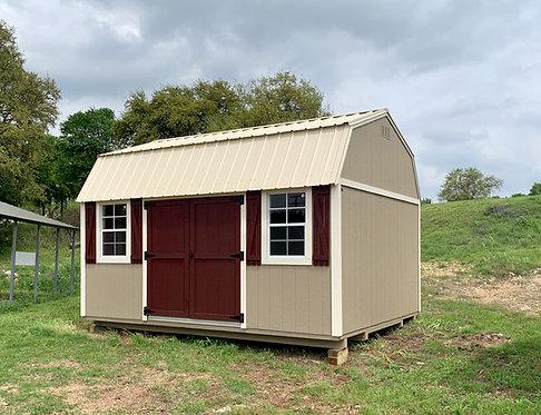 12x16 Side Entry Lofted Barn