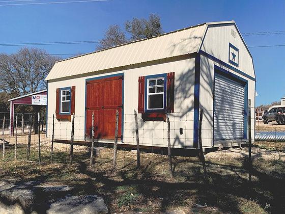 16x24 Lofted Barn Workshop