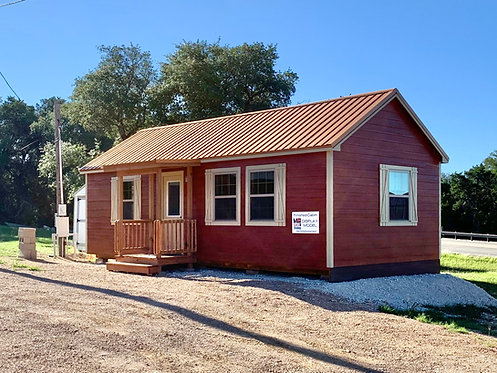 14x32 Finished 1-Bed/1-Bath Cabin