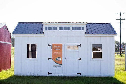 10 x 20 Chalet Style Workshop with Loft & Workbench