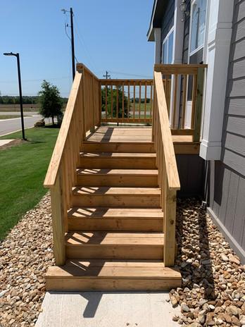 Custom Mobile 8x8 Deck Stair