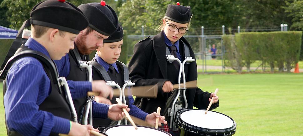 celtic grade 4 side drummers