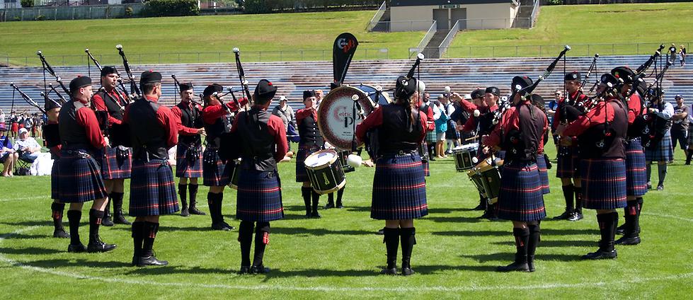 celtic grade 2 pipe band