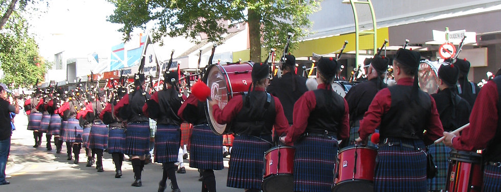 Celtic pipe band in mass bands