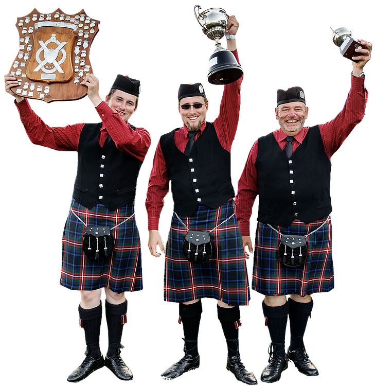 Celtic pipe band win at nationals 2015