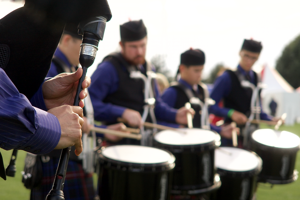 Celtic pipe band nelson