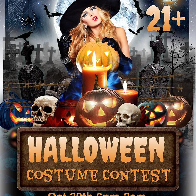 Halloween Costume Contest 21+