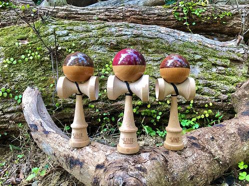 香港花式劍球協會2020認證劍球 - uni kendama 2.0夾木款 全新劍型設計