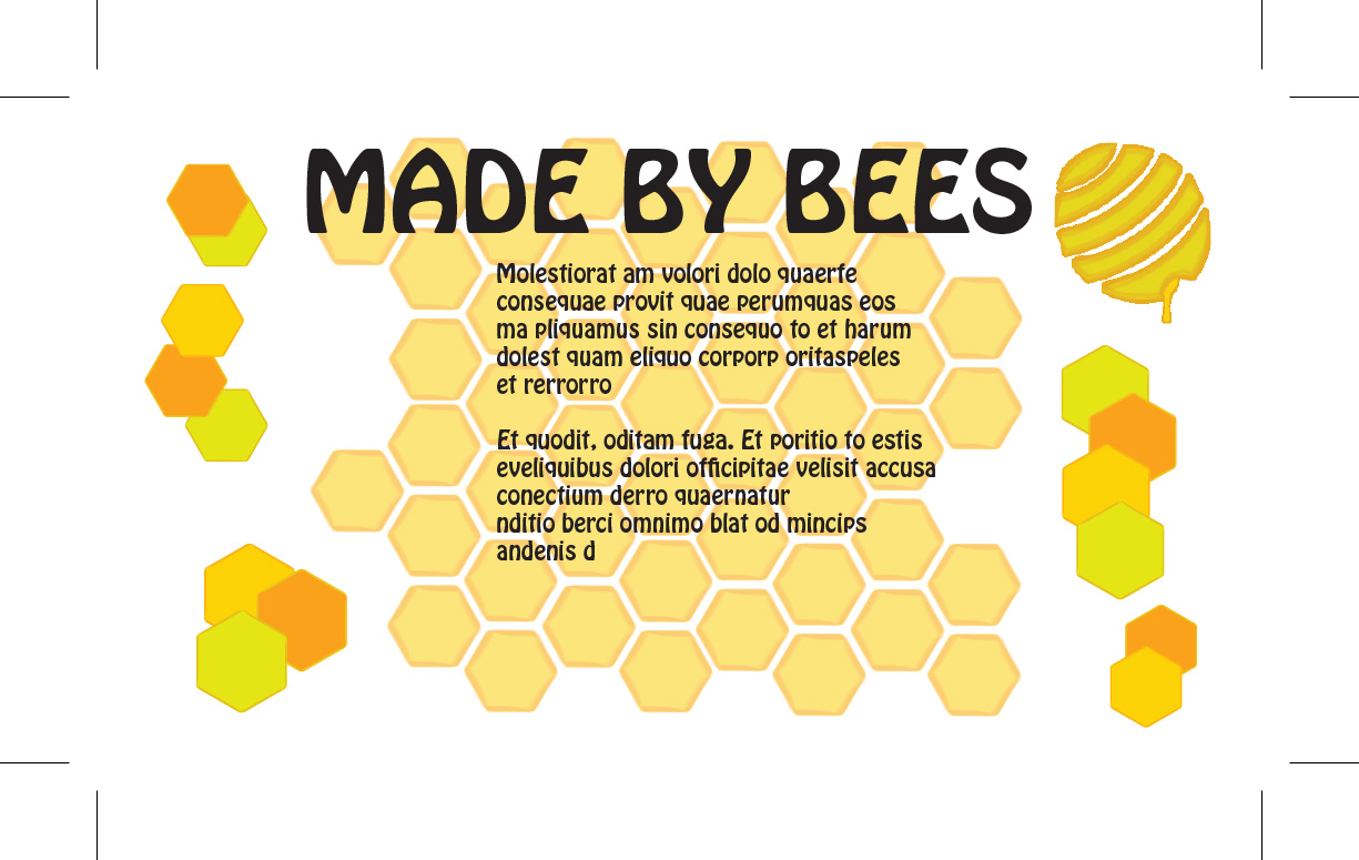 Made By Bees - Business Card