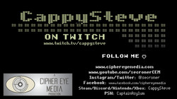 CappySteveLogo_TwitchCoverPage_SMALL