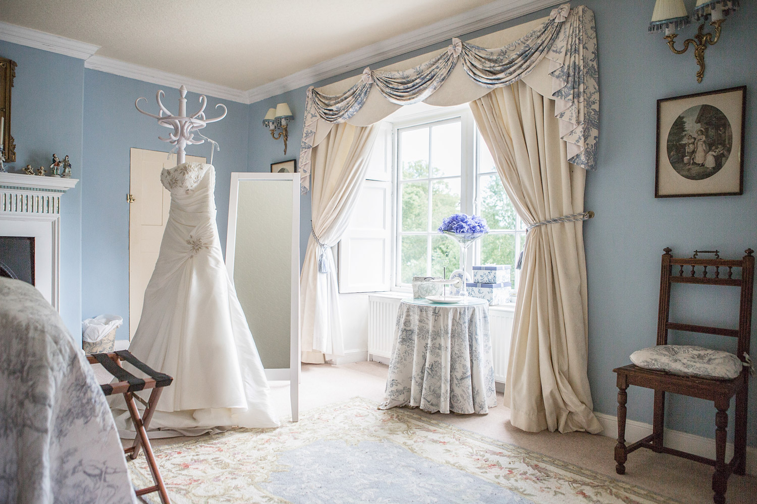 Walcot Hall Estate bridal suit