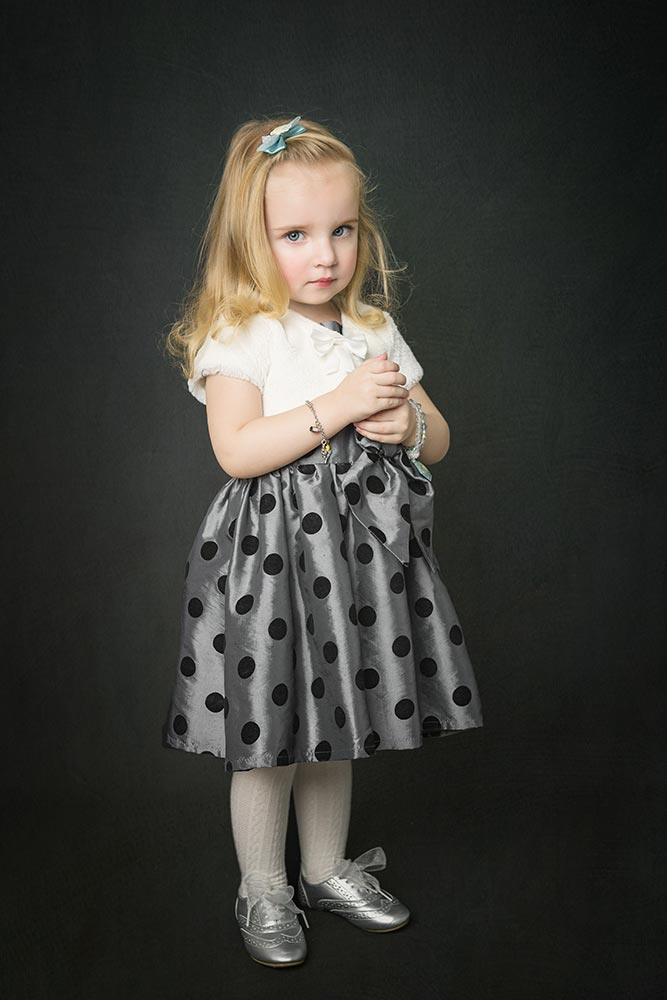 Studio children photography