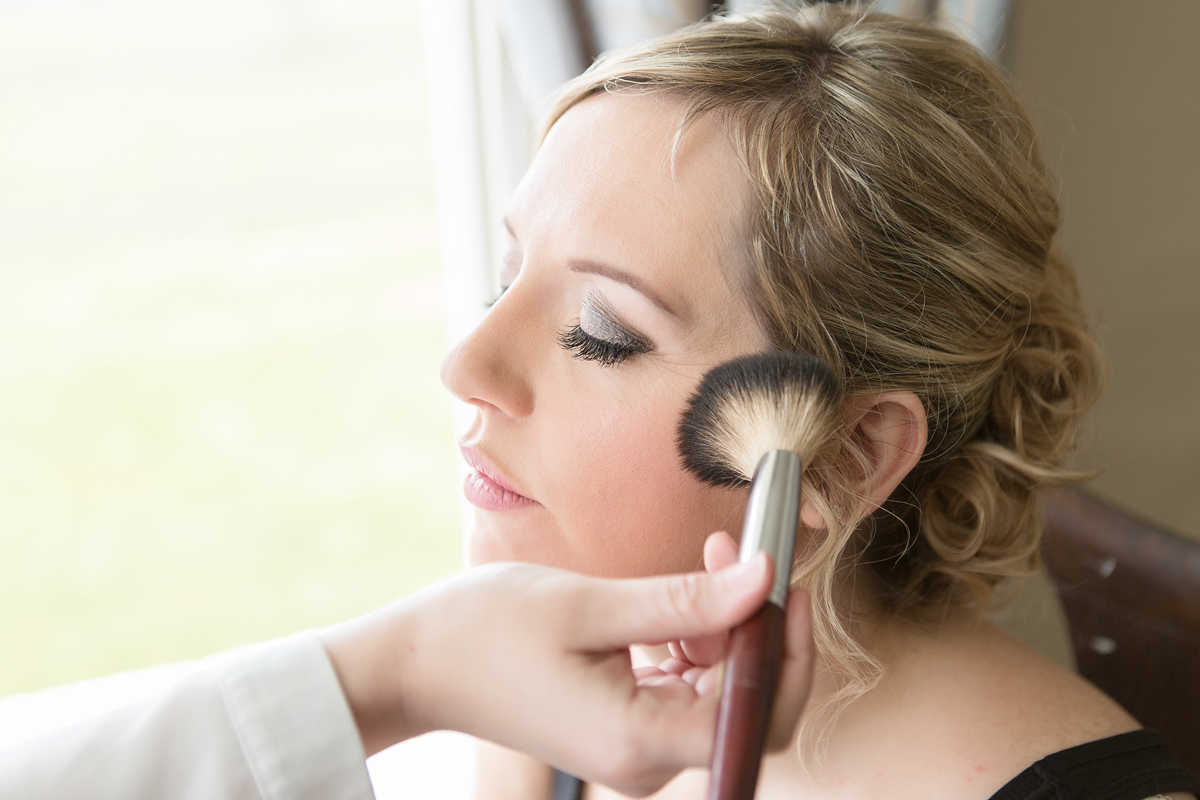 Bridal preparetion in Rowley Manor