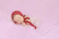 Baby girls first photosession