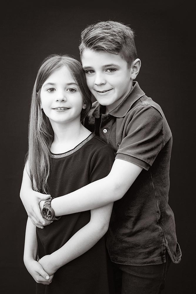 sister and brother