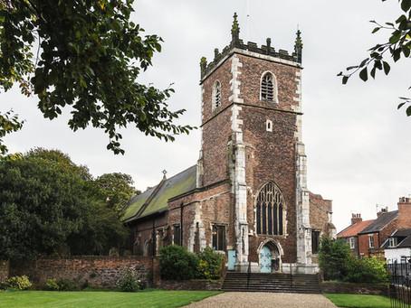 St James church wedding