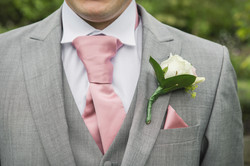 Details of grooms outfit