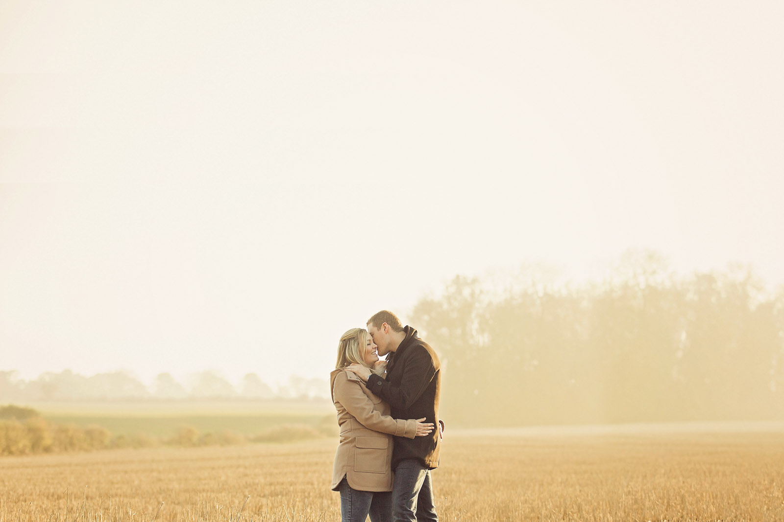 engagement on a field