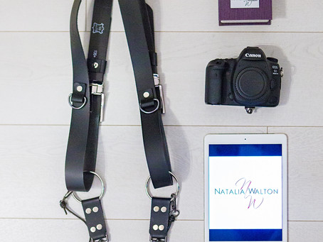 PhotoshopDigital handcrafted Dual Camera Strap