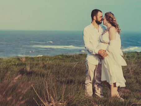 Pregnancy photoshoot in Hornsea