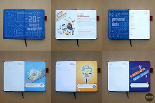 ออกแบบหนังสือ Book Design Branding Design Corporate Identity Diary Design ออกแบบกราฟฟิค Graphic Design