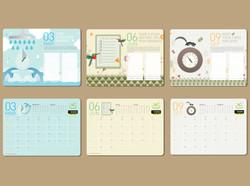 MITSUBISHI HEAVY INDUSTRIES calendar