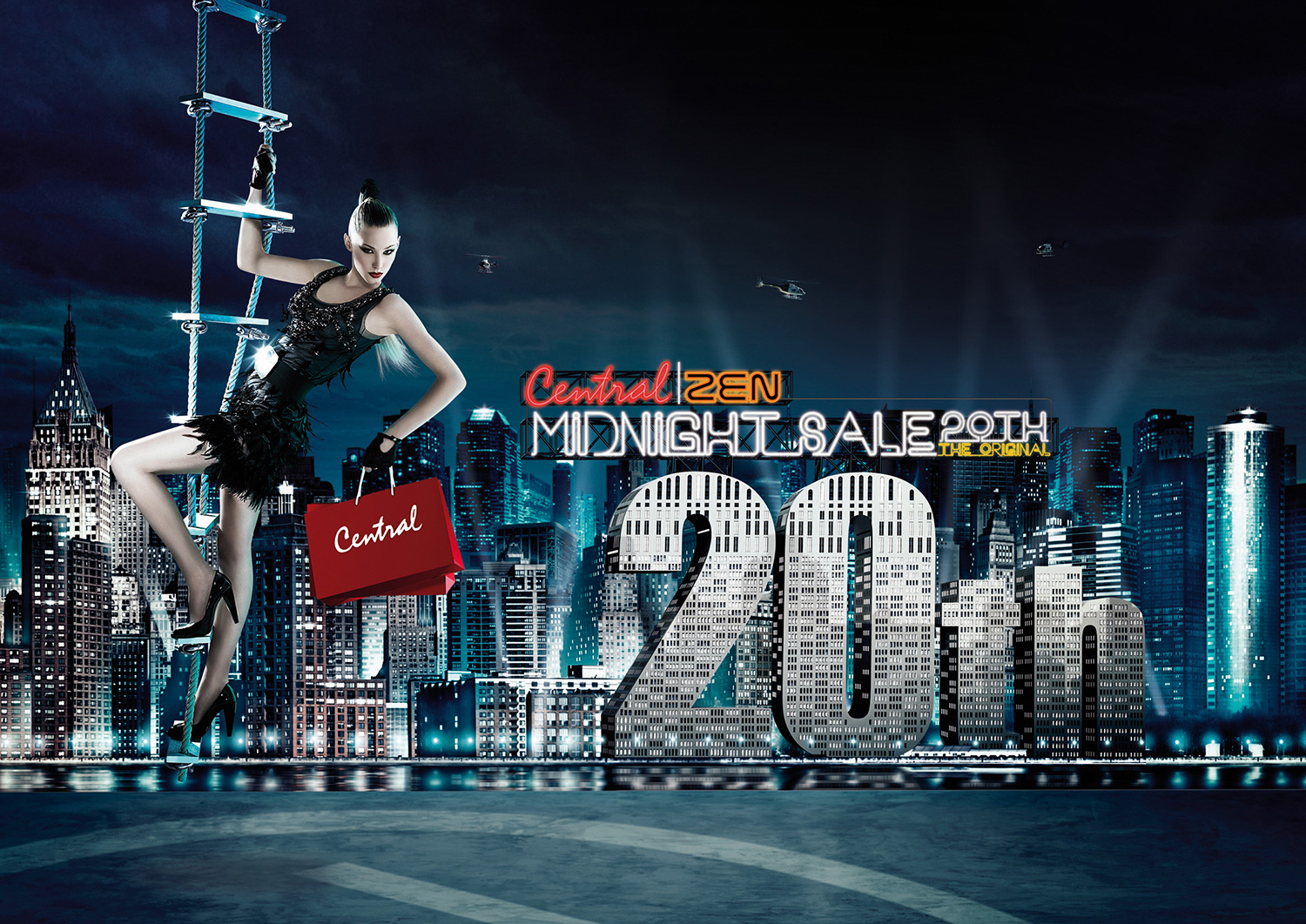 Central Midnight Sale 20th