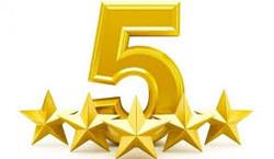 5 star customer reviews