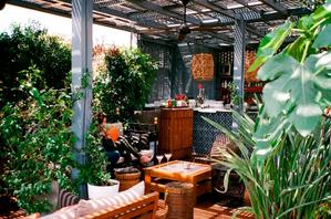 event bar patio barcelona garden drinks