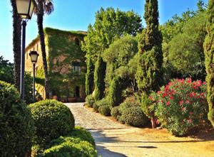 event barcelona garden trees flowers green outdoor