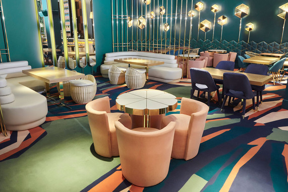 event space madrid stylish larios cafe