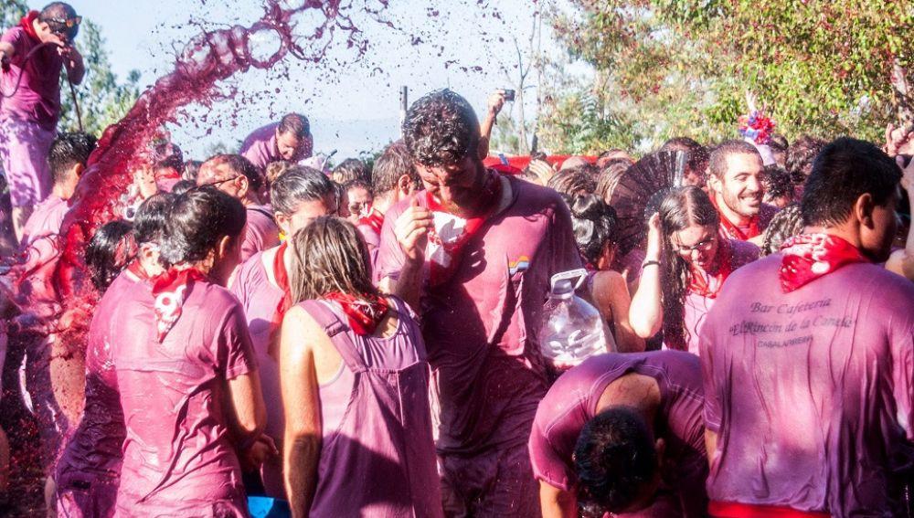La Batalla del Vino event spain