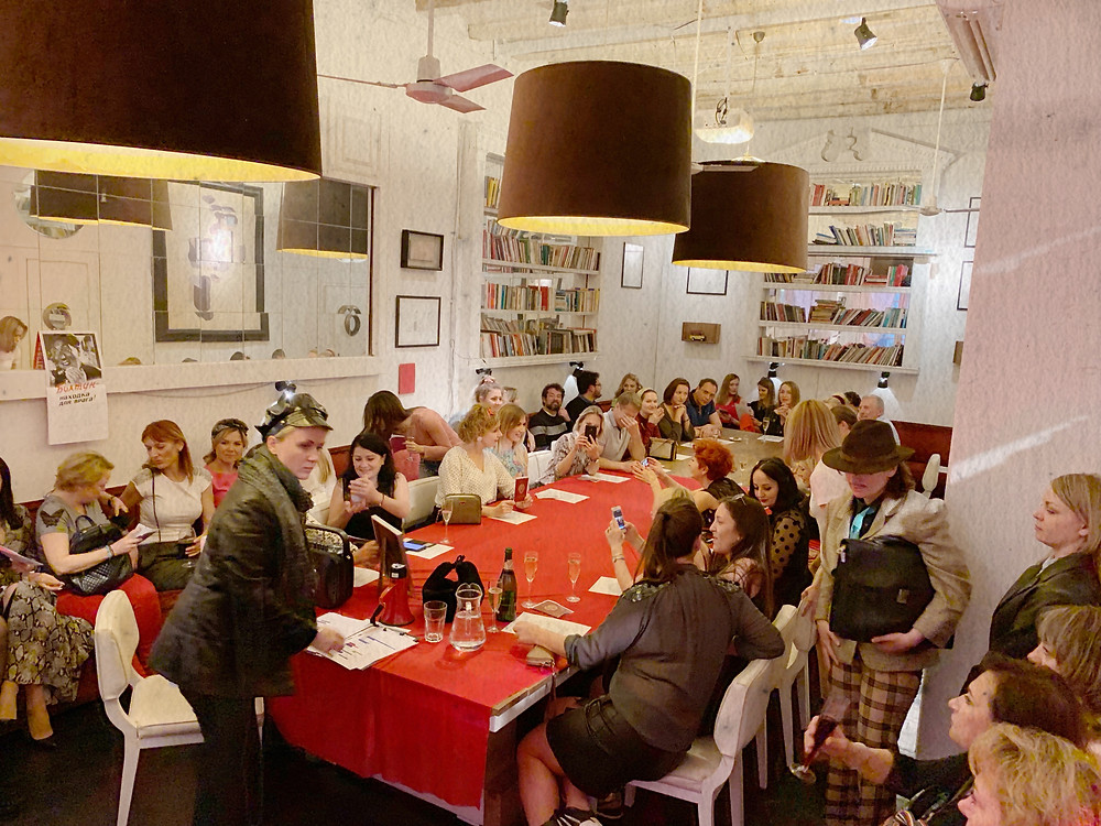 costume party soviet style ussr red table event agency barcelona