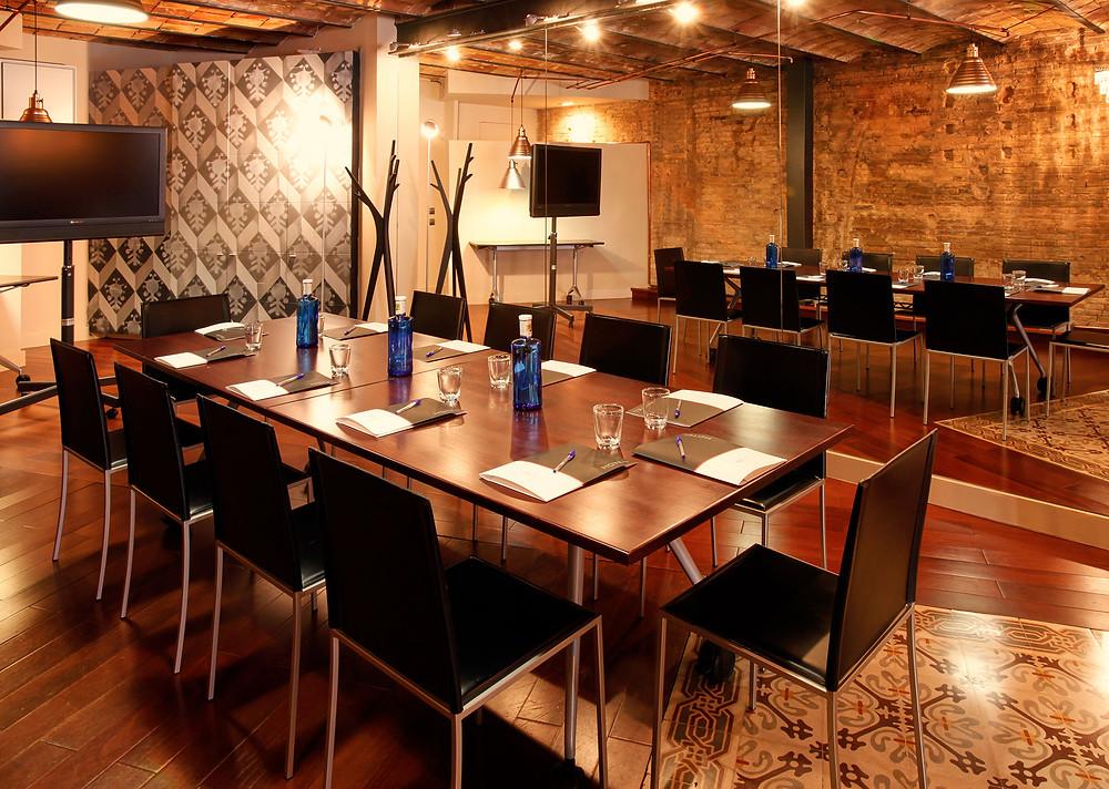 corporate event room hotel barcelona