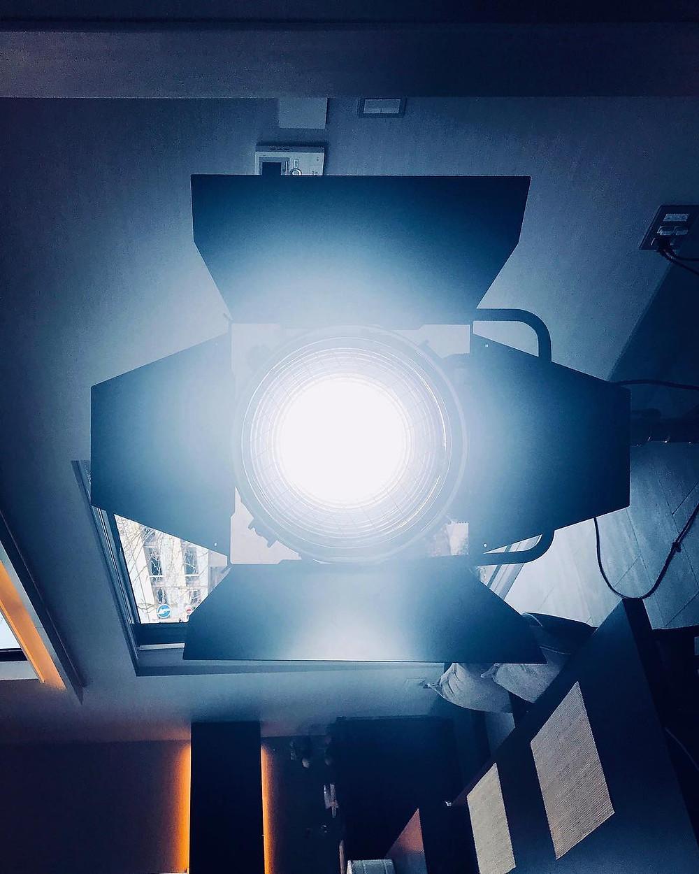 event barcelona spotlight projector