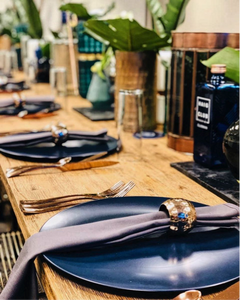 event decor table plate barcelona agency
